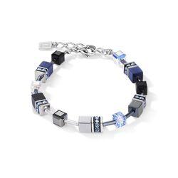 Coeur de Lion armband Medium blauw 5011-30-0700