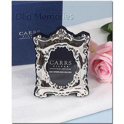 Zilveren fotolijst 5,5 x 4 cm van Carrs