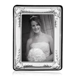 Zilveren fotolijstje bewerkt montuur Carrs BA131 9 x 6