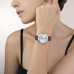 Coeur de Lion horloge antraciet band 7610-71-1224