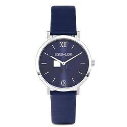Coeur de Lion horloge donker blauw 7600-71-0707