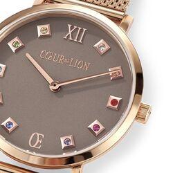 Coeur de Lion rosé horloge multicolor 7611-701636