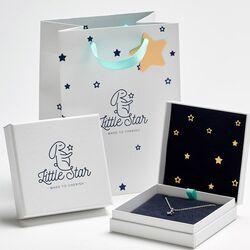 Little Star oorringen Lottie diamantje