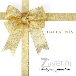 Cadeaubon voor Zilver.nl