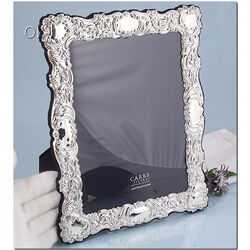 Fotolijst bewerkt zilveren montuur antiek stijl van Carrs