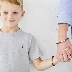 Little Star set armbanden Navy Reed en Hugo