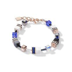 Coeur de Lion armband blauw