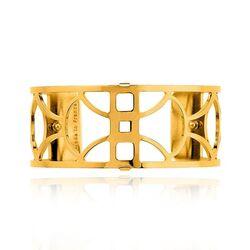 Les Georgettes 25 mm clip-horloge armband verguld Arc