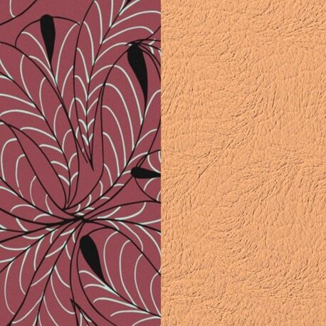Les Georgettes 40 mm inlay roze bloemblaadjes