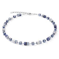 Coeur de Lion collier sodaliet hematiet blauw 4017-10-0700