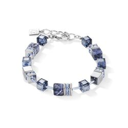Coeur de Lion armband sodaliet hematiet 4017-30-0700
