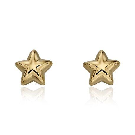 Little Star vergulde Sophie oorstekers ster
