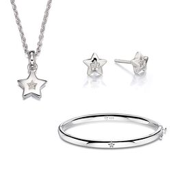 Little Star setje Cosmo's ster met diamantje