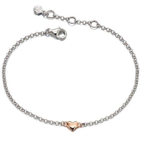 Little Star Georgiana armband rosé hart