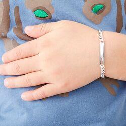 Little Star Bailey Boys armband zilver