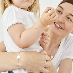 Zilver armbanden ster Mummy and Me Little Star