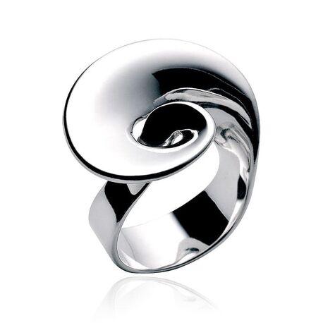 Georg Jensen ring Möbius van zilver bij Zilver.nl