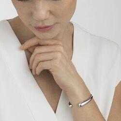 Georg Jensen armband Mercy zilveren spangarmband 20000082000l