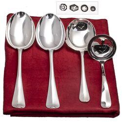 Zilver dienbestek Hollands glad model 1060 bij Zilver.nl