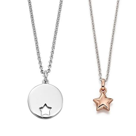 Little Star ketting ster voor moeder en kind