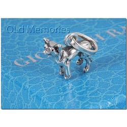 Zilveren hanger of bedel chihuahua