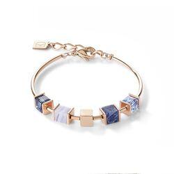 Coeur de Lion armband chain blue