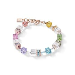 Coeur de Lion armband multicolour crystal