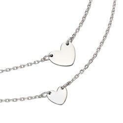 Little Star set Silver Heart