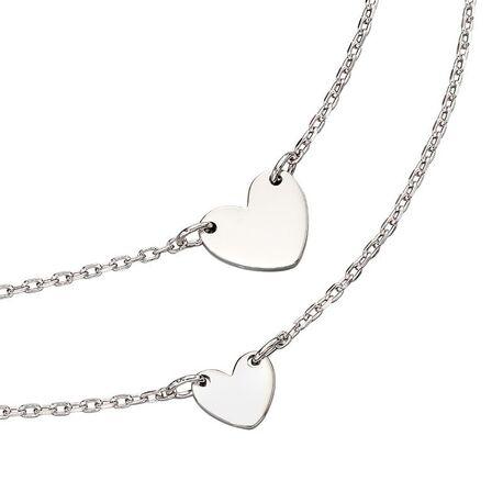 Little Star collier set Silver Heart