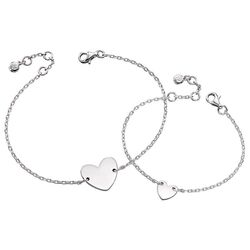 Little Star armbandjes Silver Heart