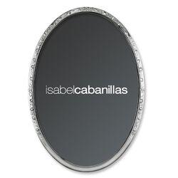 Ovale zilveren fotolijst 10x15