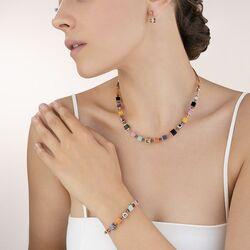Coeur de Lion armband 5050-30-1575 rosé multicolour Couture