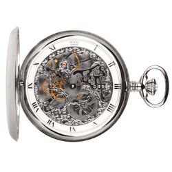 Royal London zakhorloge Full Hunter skelet