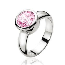 Zinzi ring roze zirconia Zir050r