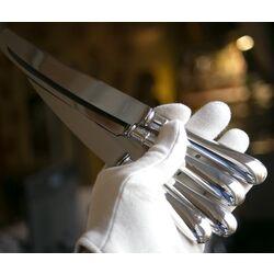 Oude flink gebruikte oude zilveren messen model 250