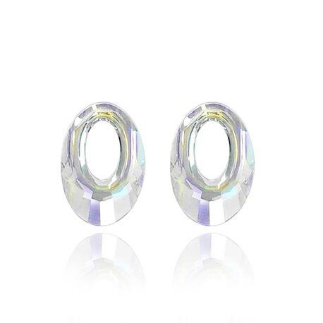 MY iMenso Creoli hangers Swarovski Crystal multicolor