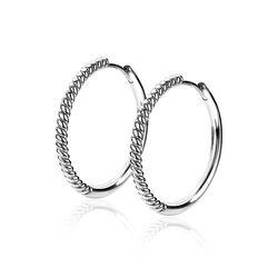 Zinzi zilveren oorringen ZIO2129