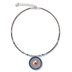 Coeur de Lion collier 5035-10-0735 amulet amazoniet Montana