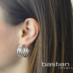 Bastian Inverun zilveren creolen 38091