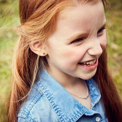 Little Star oorstekers Ava zilver sterretjes