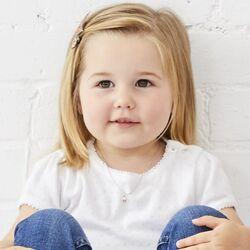 Little Star sieradenset verguld hart Ella en Aria