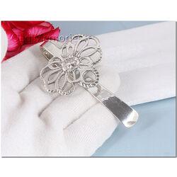 Antiek zilveren tashaak of naaigerei haak 18e eeuws zilver