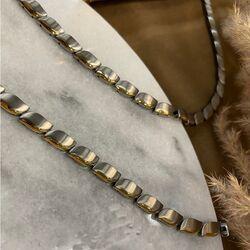 Boccia bicolor titanium armband 03032-02