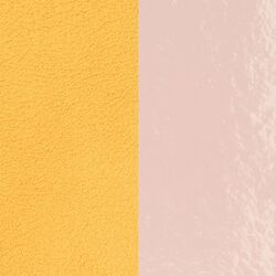 Les Georgettes 25 mm inlay lemon yellow light pink