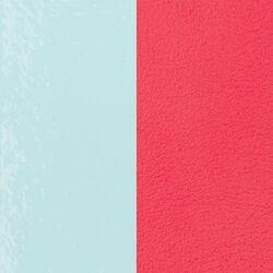 Les Georgettes 25 mm inlay licht blauw roze