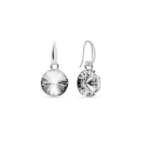 Spark zilveren Cany oorstekers crystal