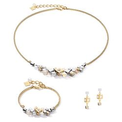 Coeur de Lion sieradenset Cluster goud zilver 5037-1617