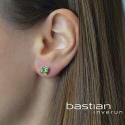 Bastian Inverun vierkante oorstekers peridot