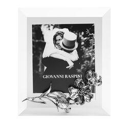 Giovanni Raspini zilveren fotolijst bloemen