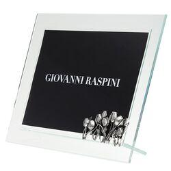 Giovanni Raspini zilveren fotolijst tulpen